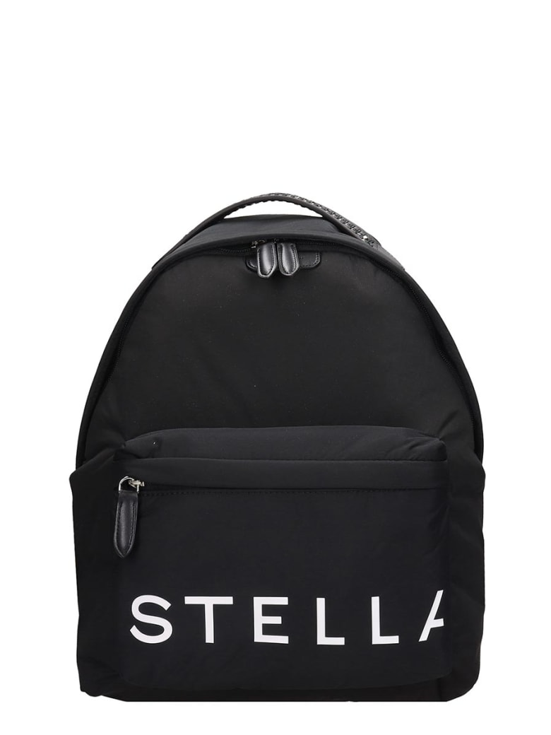 Stella McCartney Backpack In Black Tech/synthetic - black