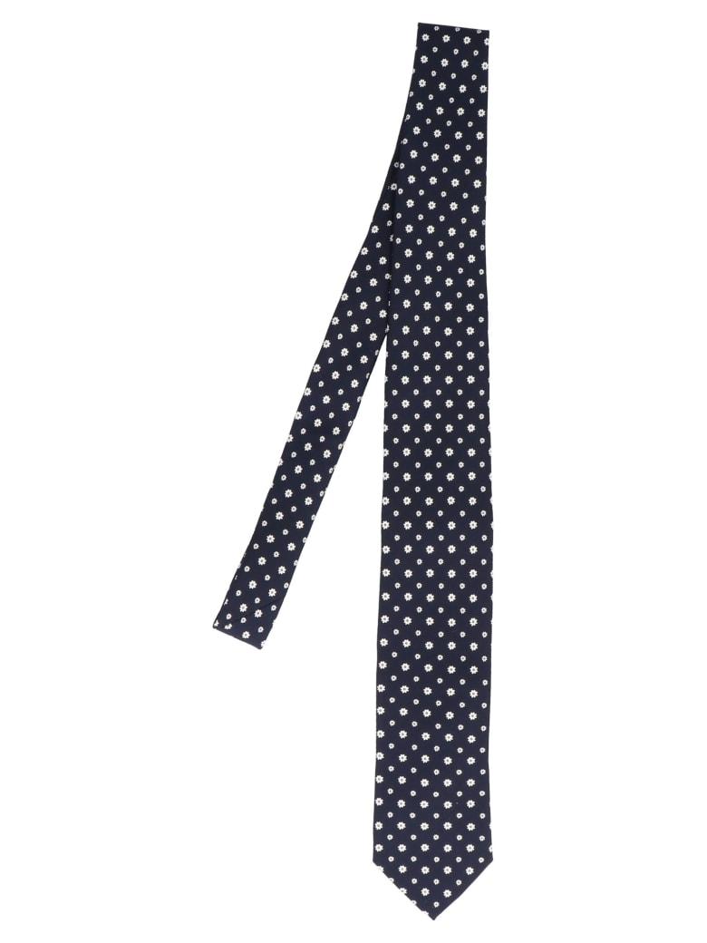 Fefè 'margherite' Tie - Blue