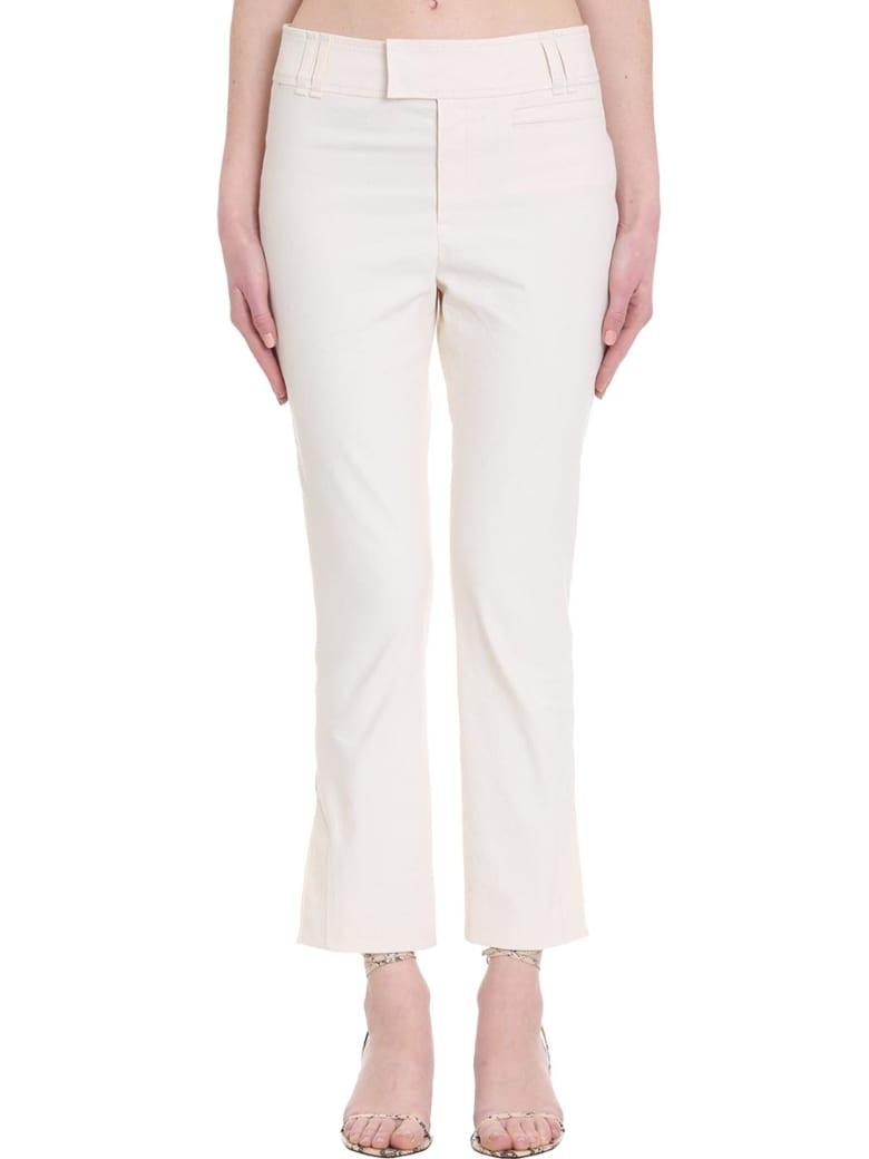 Isabel Marant Lovida Pants In Beige Cotton - beige