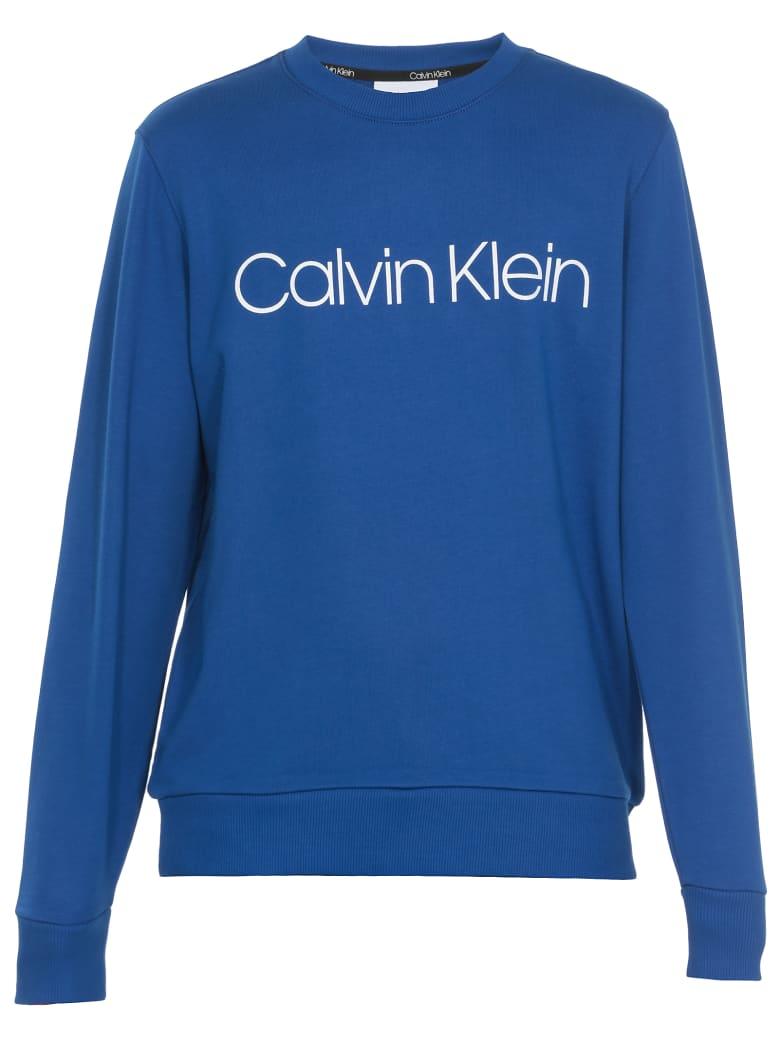 Calvin Klein Cotton Sweatshirt - CK BRIGHT INDIGO