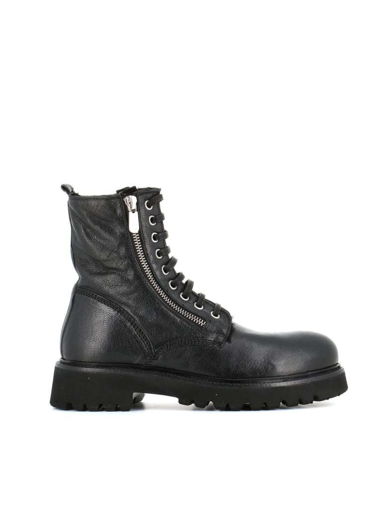 Rocco P. Lace-up Boot 9617 - Black