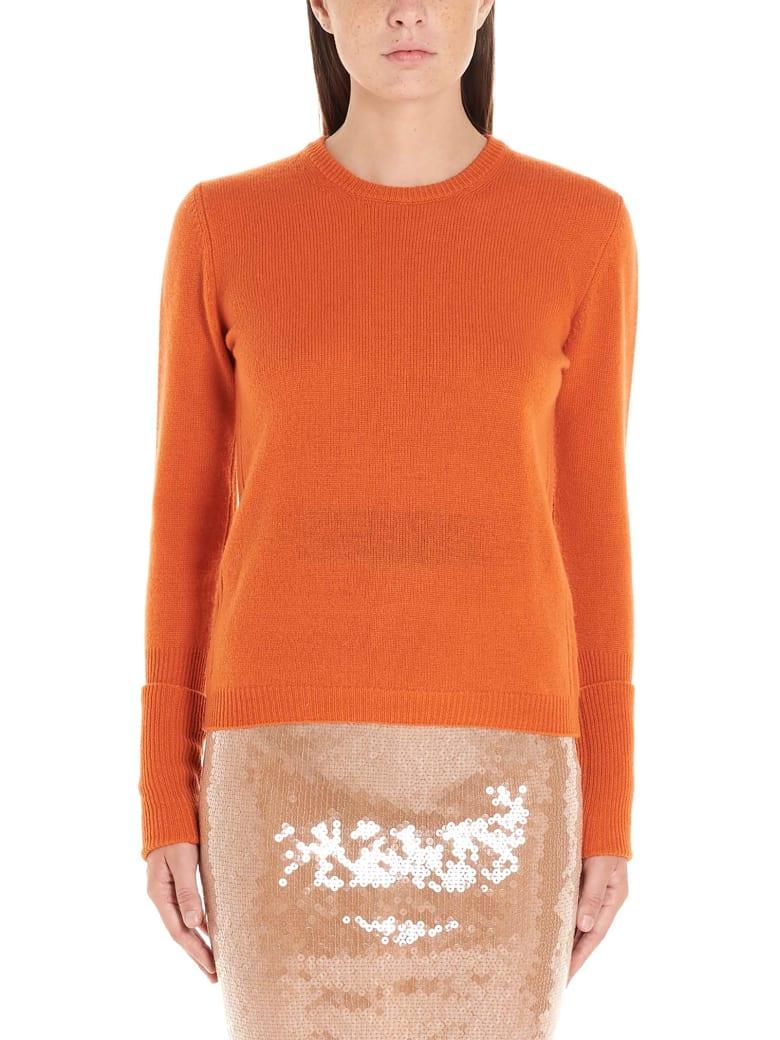 (nude) Sweater - Orange