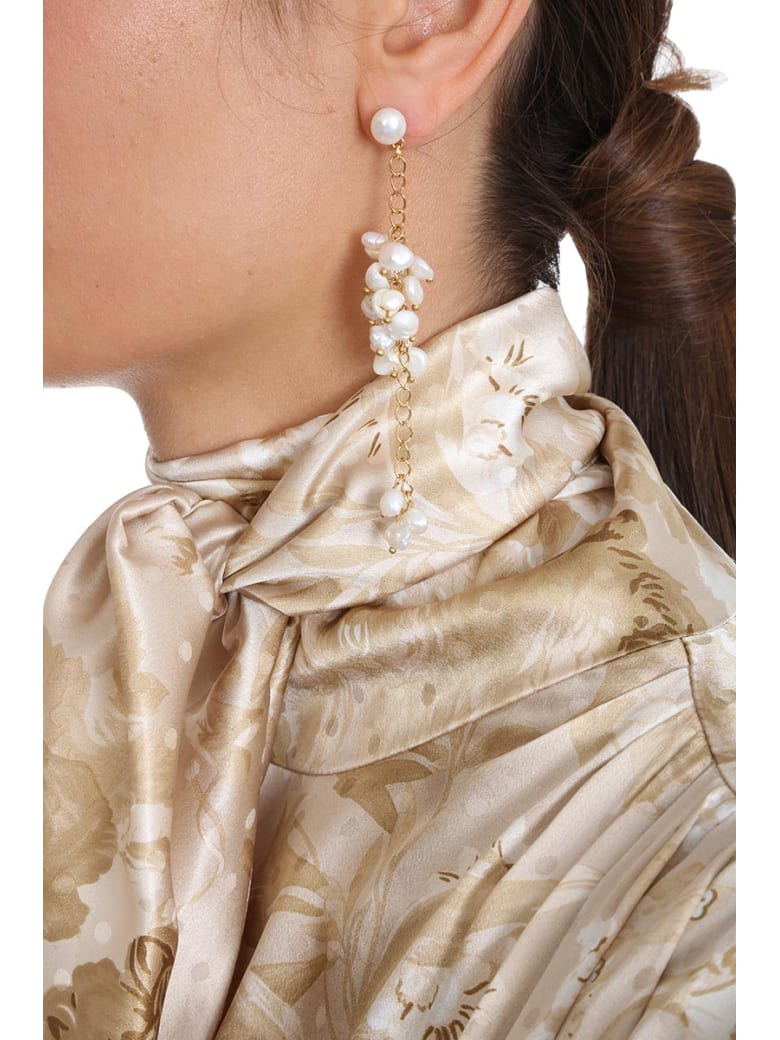 Magda Butrym Snapdragon Jewelry In Gold Pvc - gold