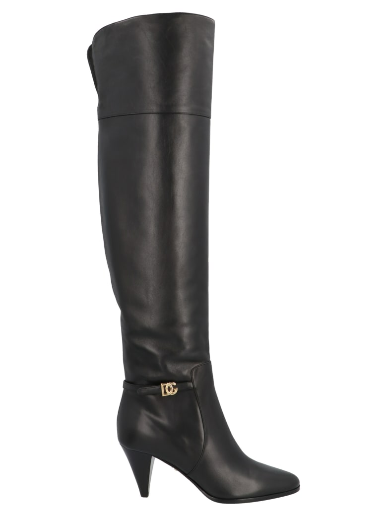 Dolce & Gabbana 'dg Millenials' Shoes - Black