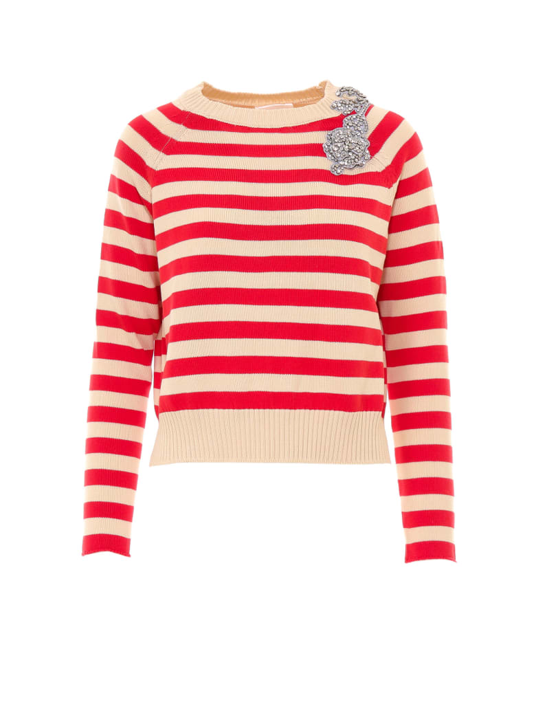 SEMICOUTURE Sweater - Red