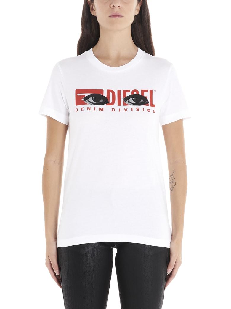 Diesel 'sily Yd' T-shirt - White