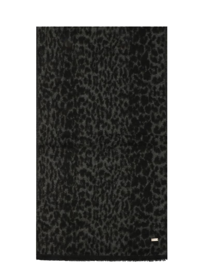 Saint Laurent Scarf - Anthracite Black