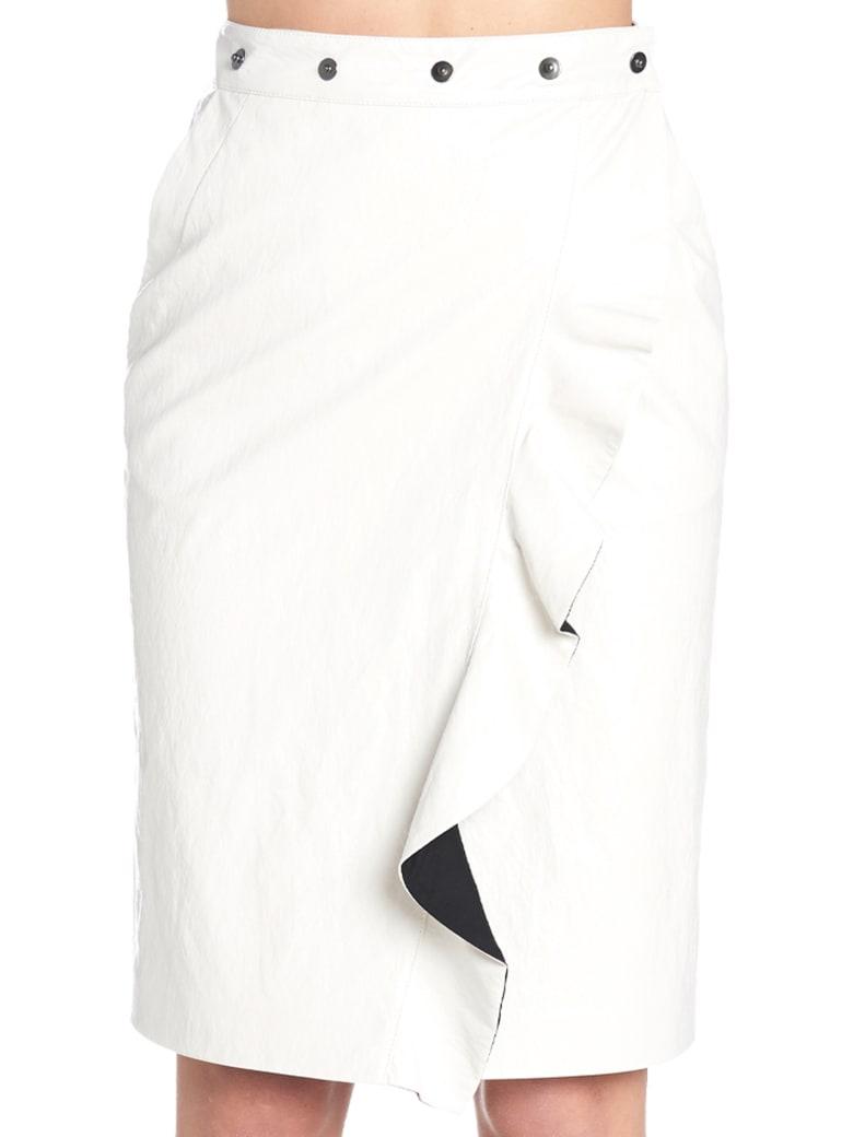 (nude) Skirt - White