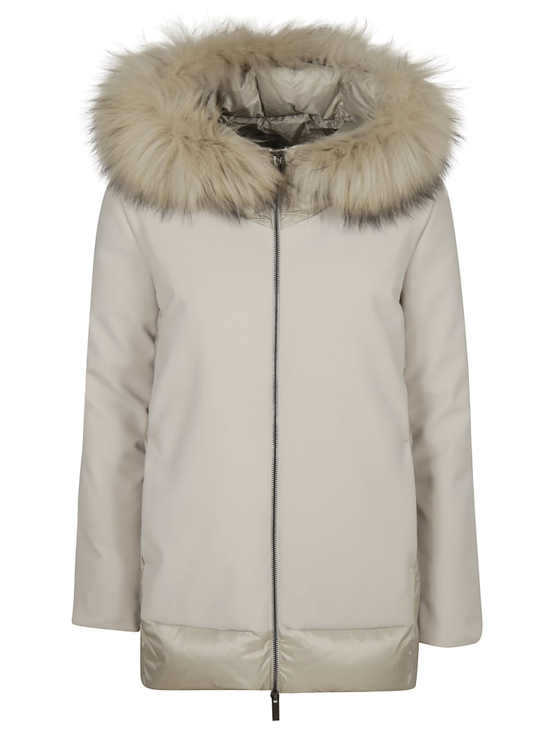 RRD - Roberto Ricci Design Winter Hybrid Feathered Hood Jacket
