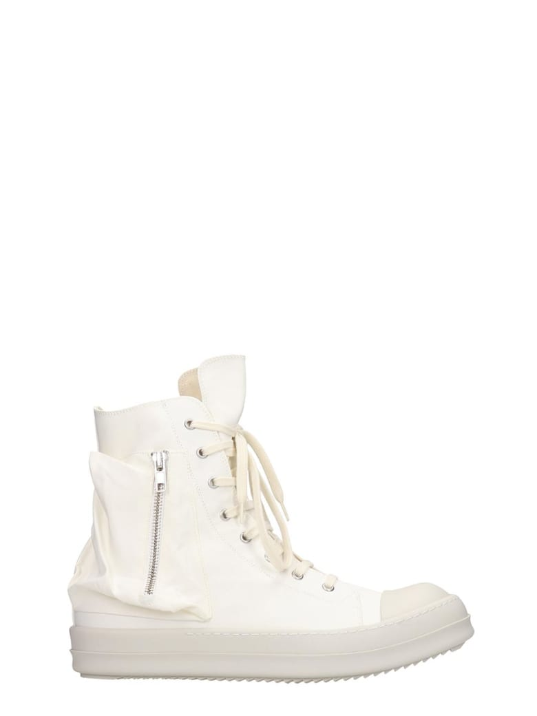 DRKSHDW Bauhaus Sneaks Sneakers In White Tech/synthetic - white