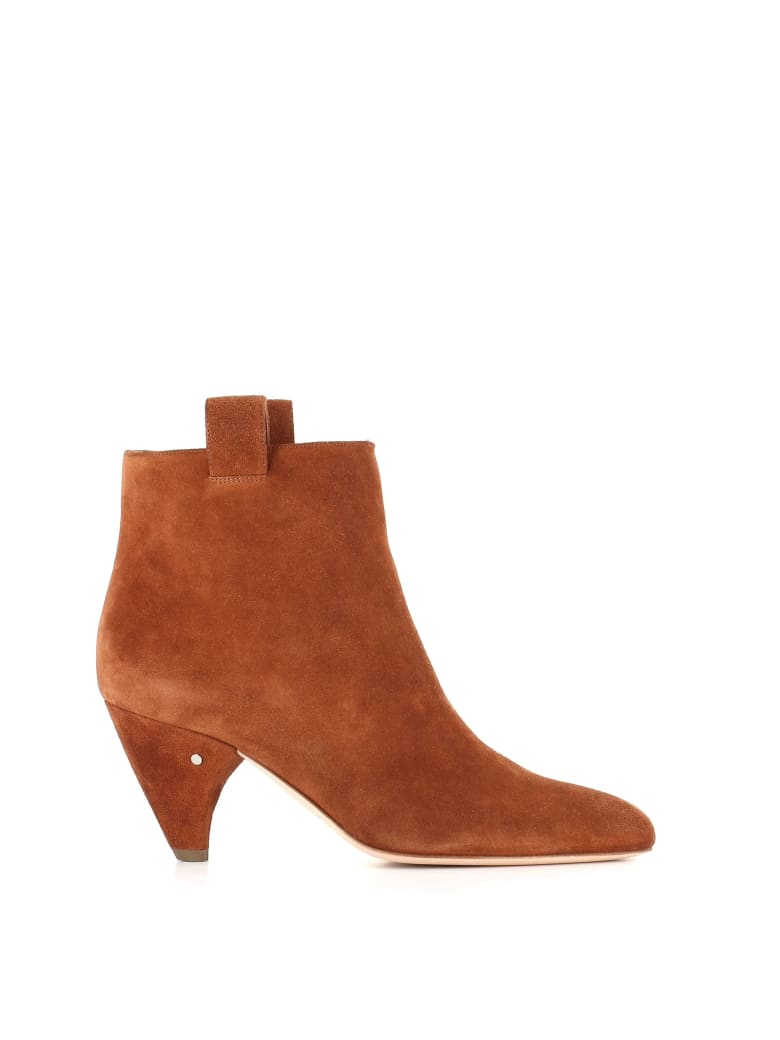 """Laurence Dacade Ankle Boots """"terence"""" - Cognac"""