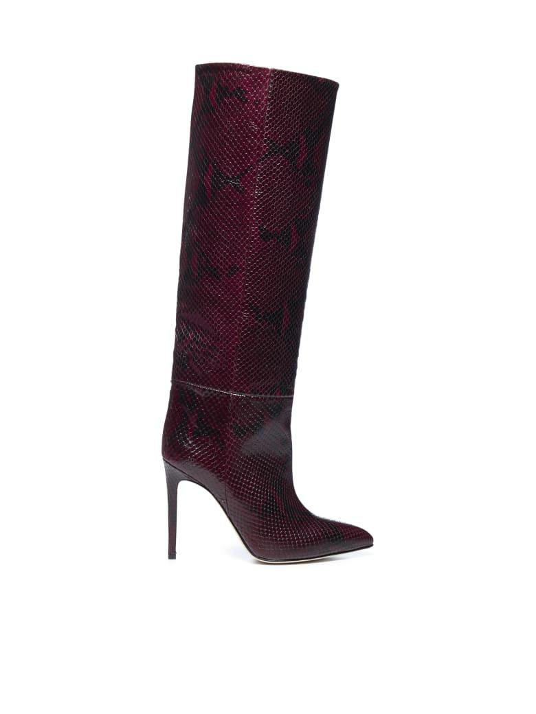 Paris Texas Boots - Aubergine