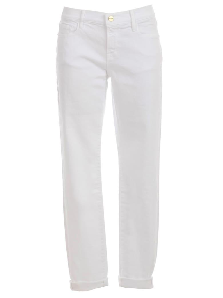 Frame Le Garcon Jeans Skinny - Blanc