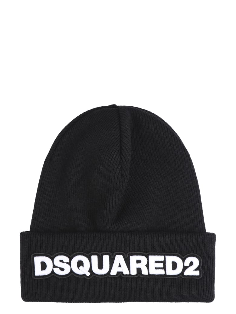 24506a839 Dsquared2 Logo Wool Beanie