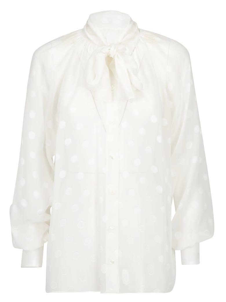 Dolce & Gabbana Silk Shirt - Bianco