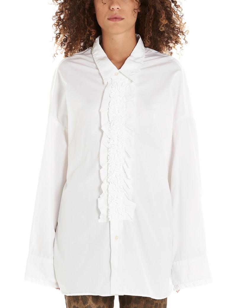 R13 'tuxedo' Shirt - White