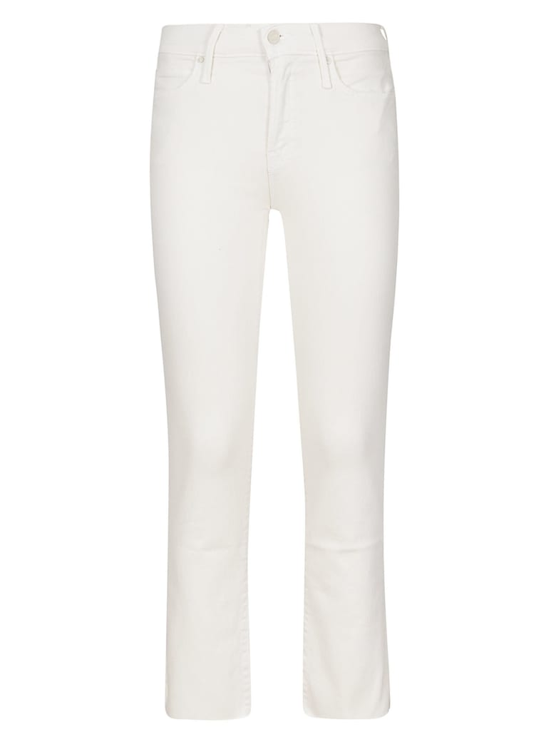 Mother Flared Leg Trousers - Bianco