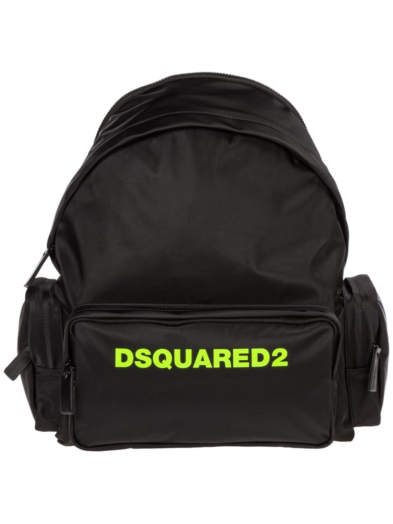 Veröffentlichungsdatum Qualität zuerst populäres Design Best price on the market at italist | Dsquared2 Dsquared2 Nylon Rucksack  Backpack Travel
