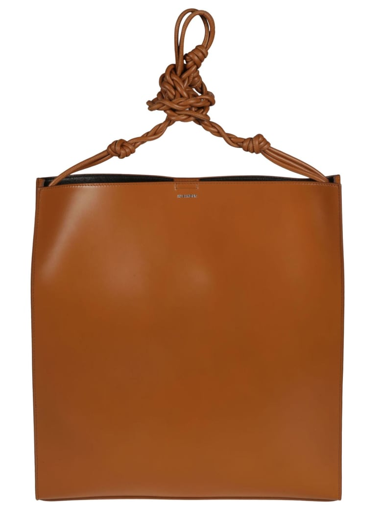 Jil Sander Borsa Tangle Lg - Medium Brown