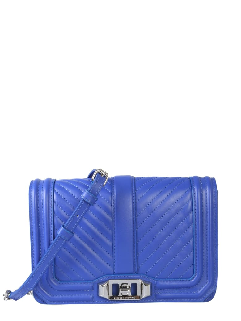 Rebecca Minkoff Small Love Shoulder Bag - BLU