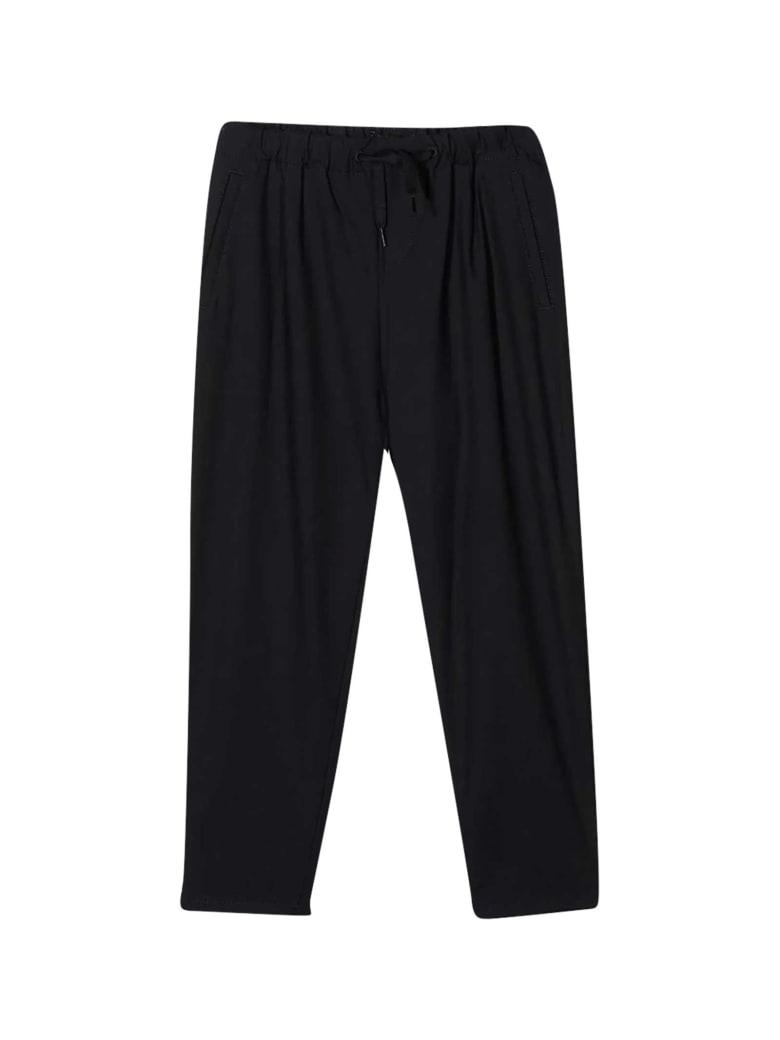 Emporio Armani Black Trousers - Nero