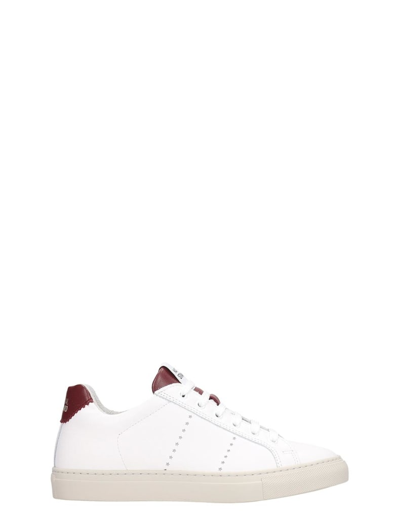 National Standard Sneakers In White Leather - white