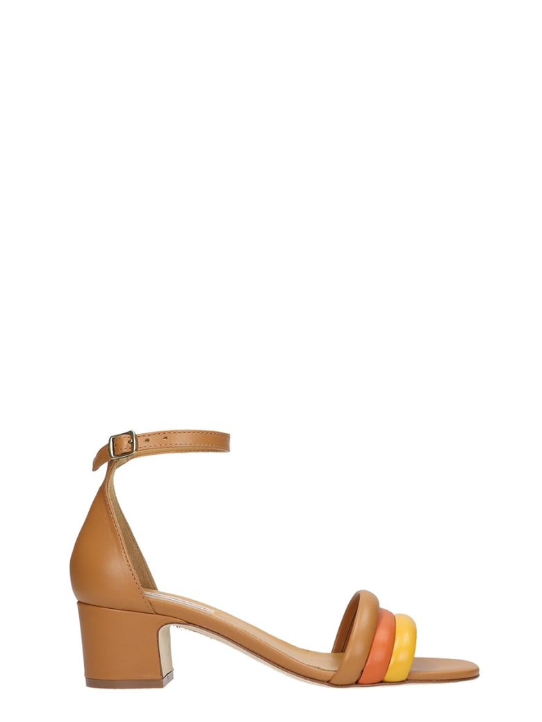 Fabio Rusconi Flats In Leather Color Leather - leather color