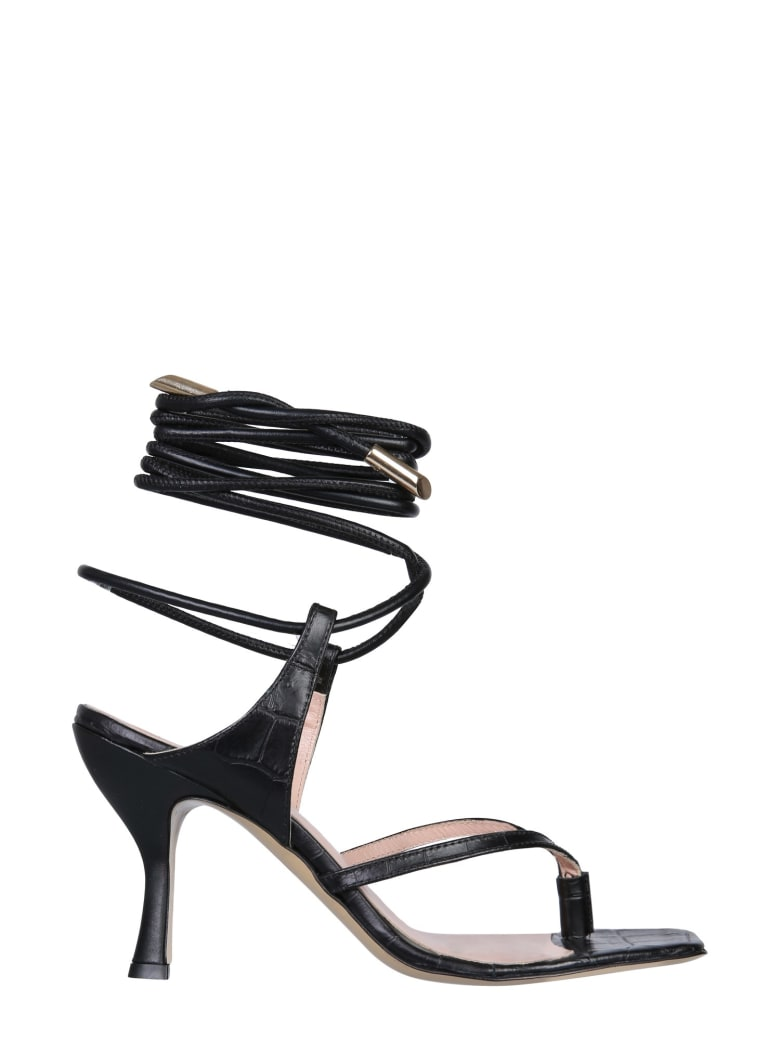 GIA COUTURE Woman Sandals - NERO