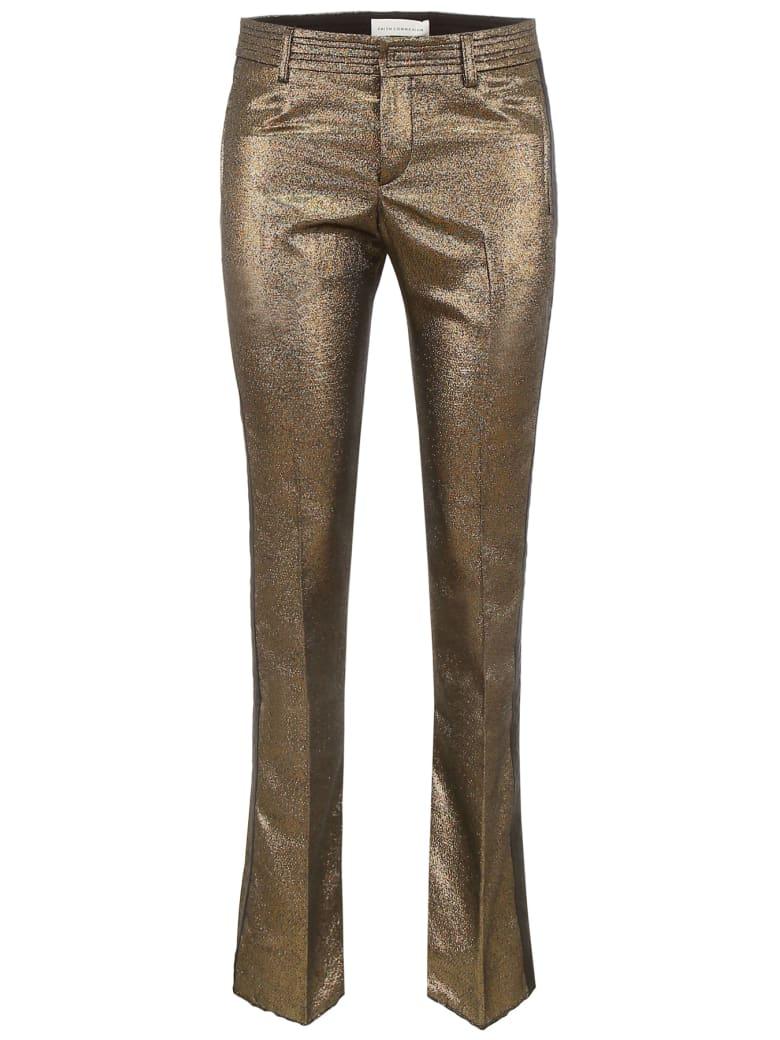 Faith Connexion Lurex Trousers - GOLD (Gold)