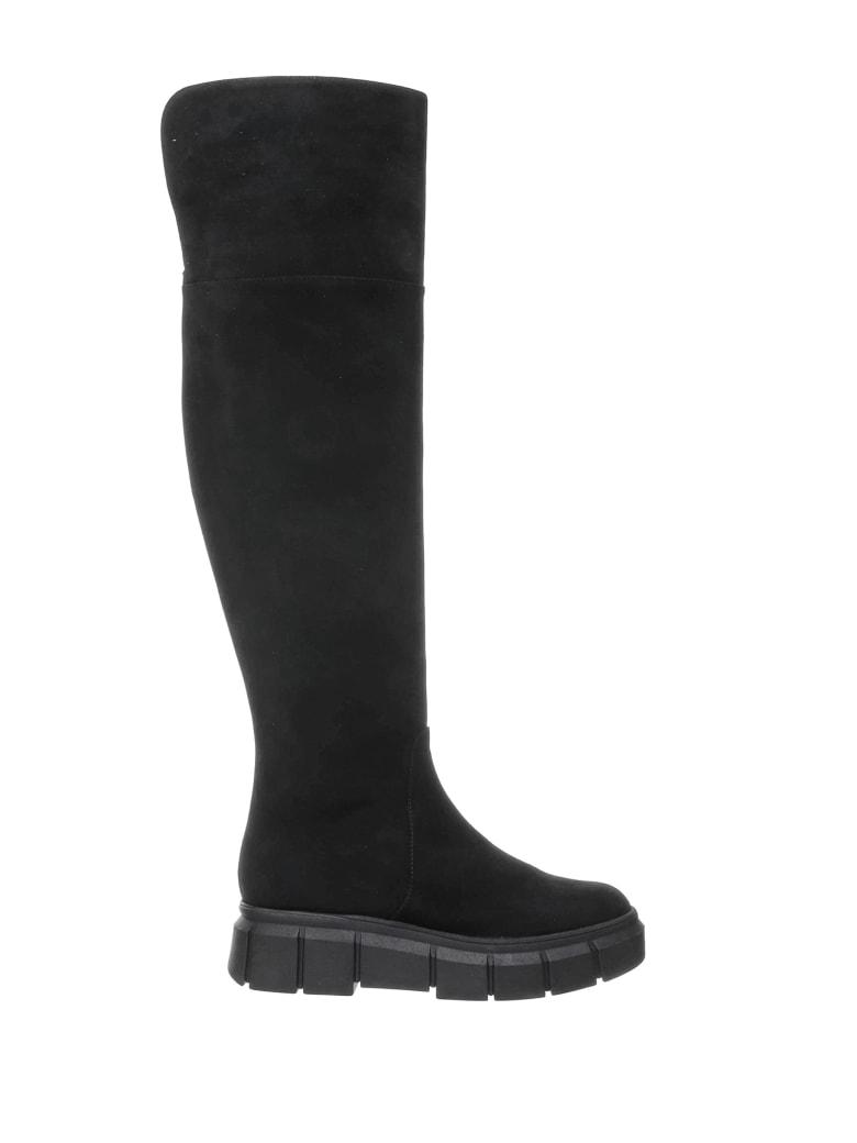 Ninalilou Ninalilou Black Glass Boot - NERO