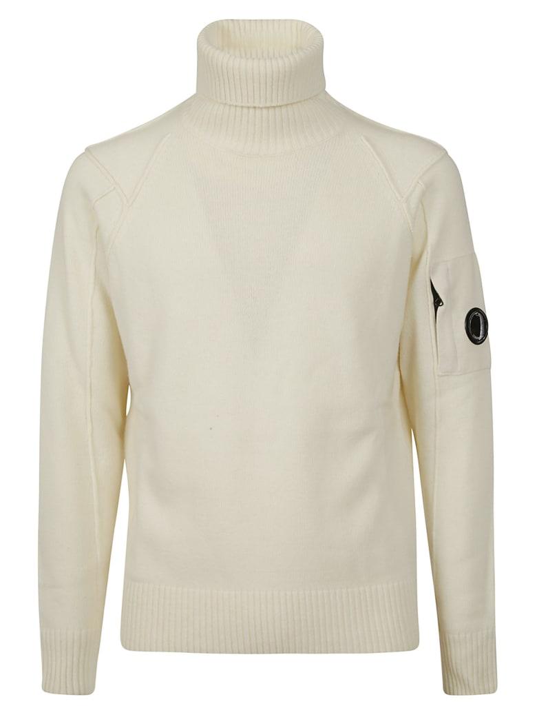 C.P. Company Turtleneck Sweater - Gauze white