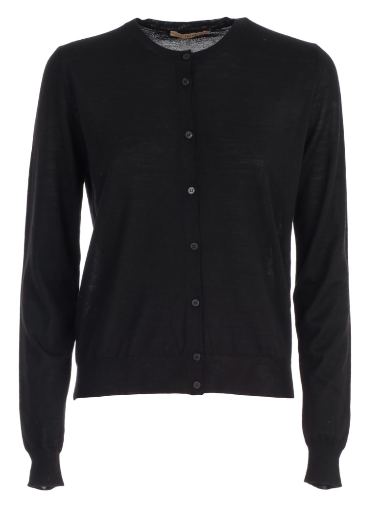 Nuur Sweater Korean Neck - Black