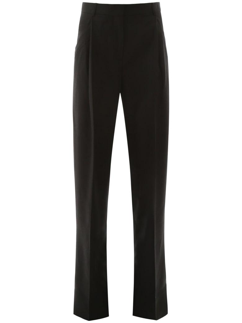 Jacquemus Loya Loose Trousers - BLACK (Black)