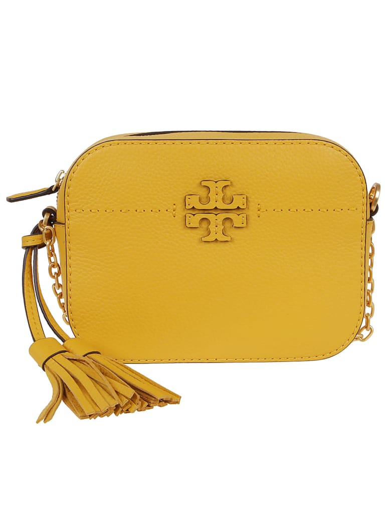Tory Burch Mcgraw Camera Bag - Giallo