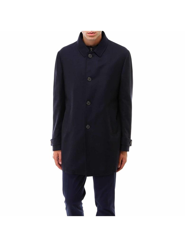 Corneliani Outdoor Jacket Coat - Blue