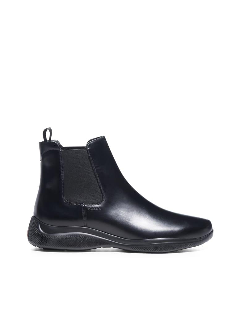 Prada Linea Rossa Boots - Nero