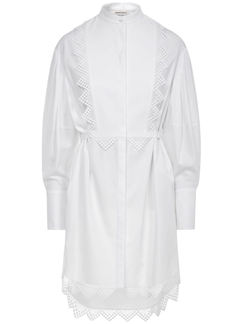 Alexander McQueen Dress - White
