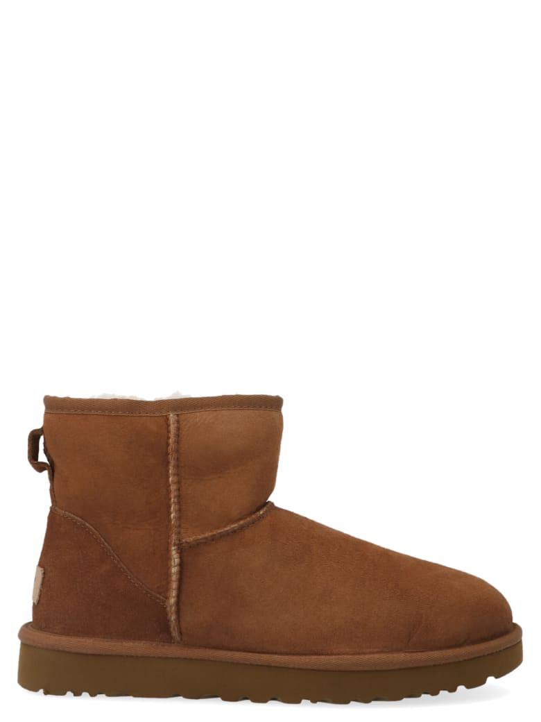 UGG 'mini Classic' Shoes - Beige