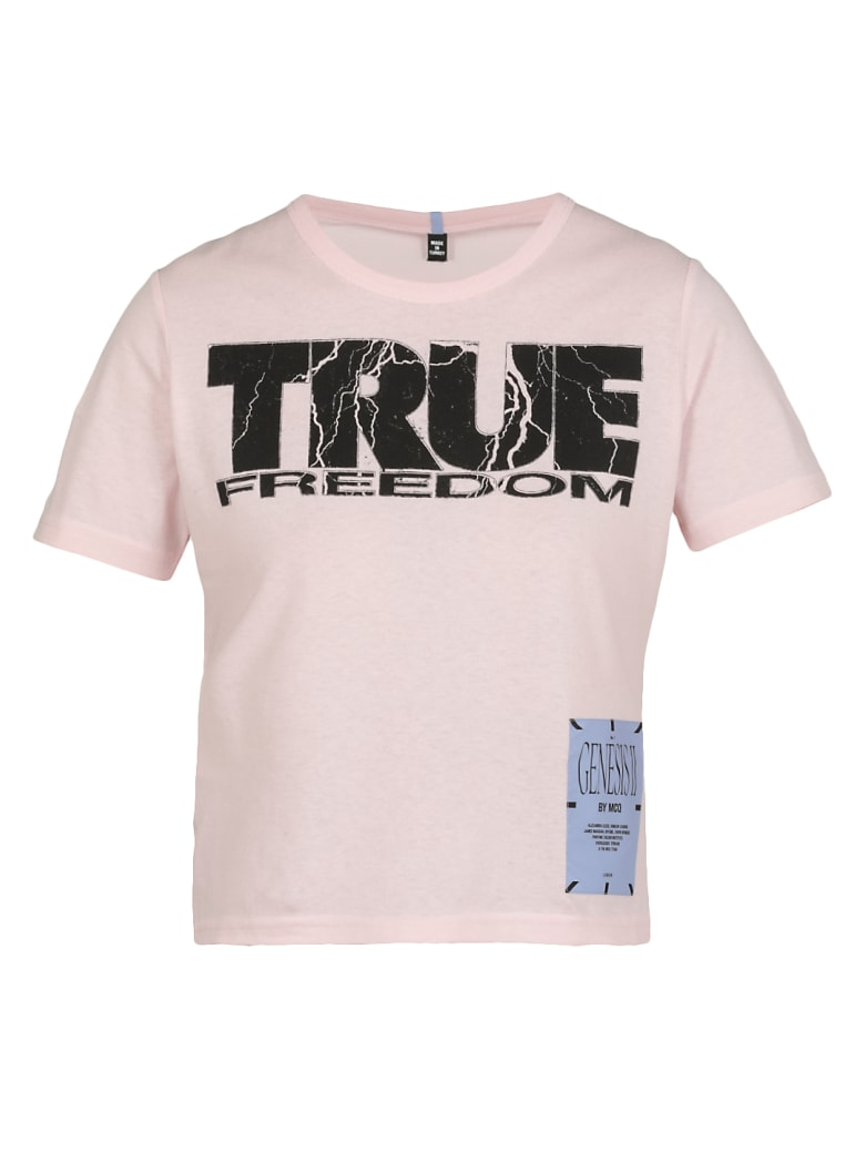 McQ Alexander McQueen Mcq Freedom T-shirt - PINK CLAY