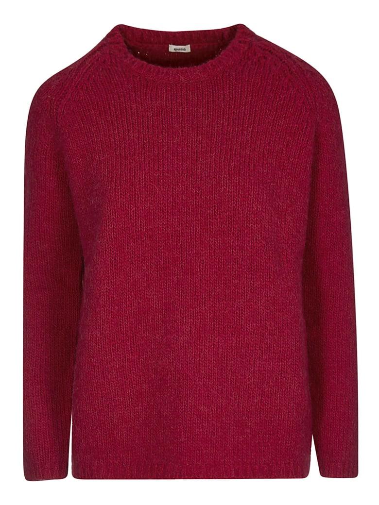 A Punto B Knitted Sweater - Cyclamen
