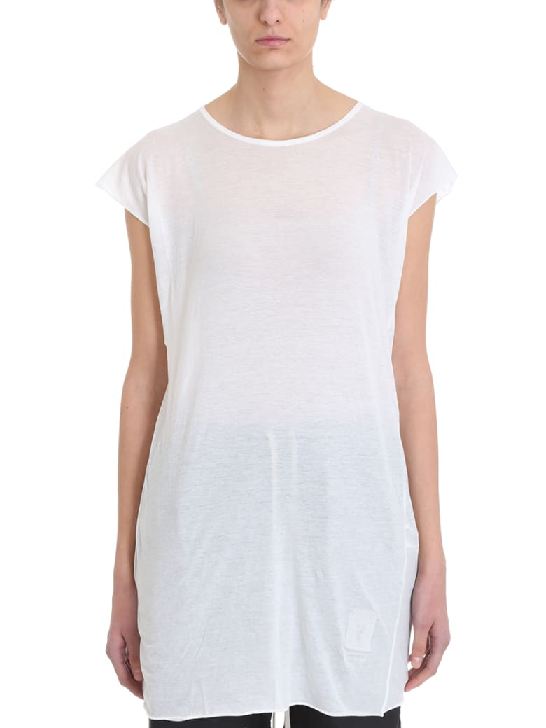 DRKSHDW Milk Jersey T-shirt - white