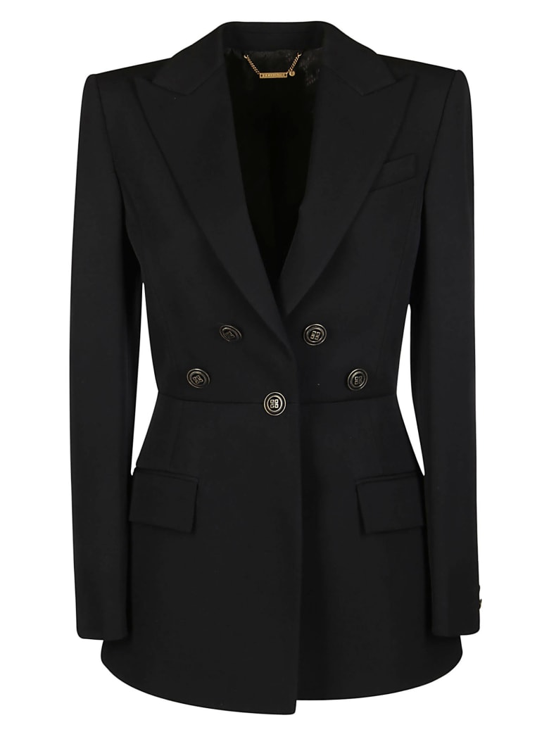 Givenchy Button Detailed Blazer Jacket - Black