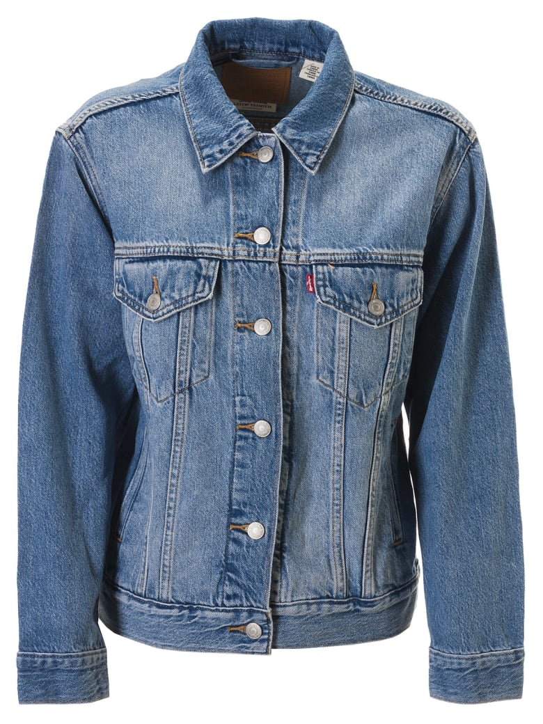 Levi's Buttoned Denim Jacket - Blue