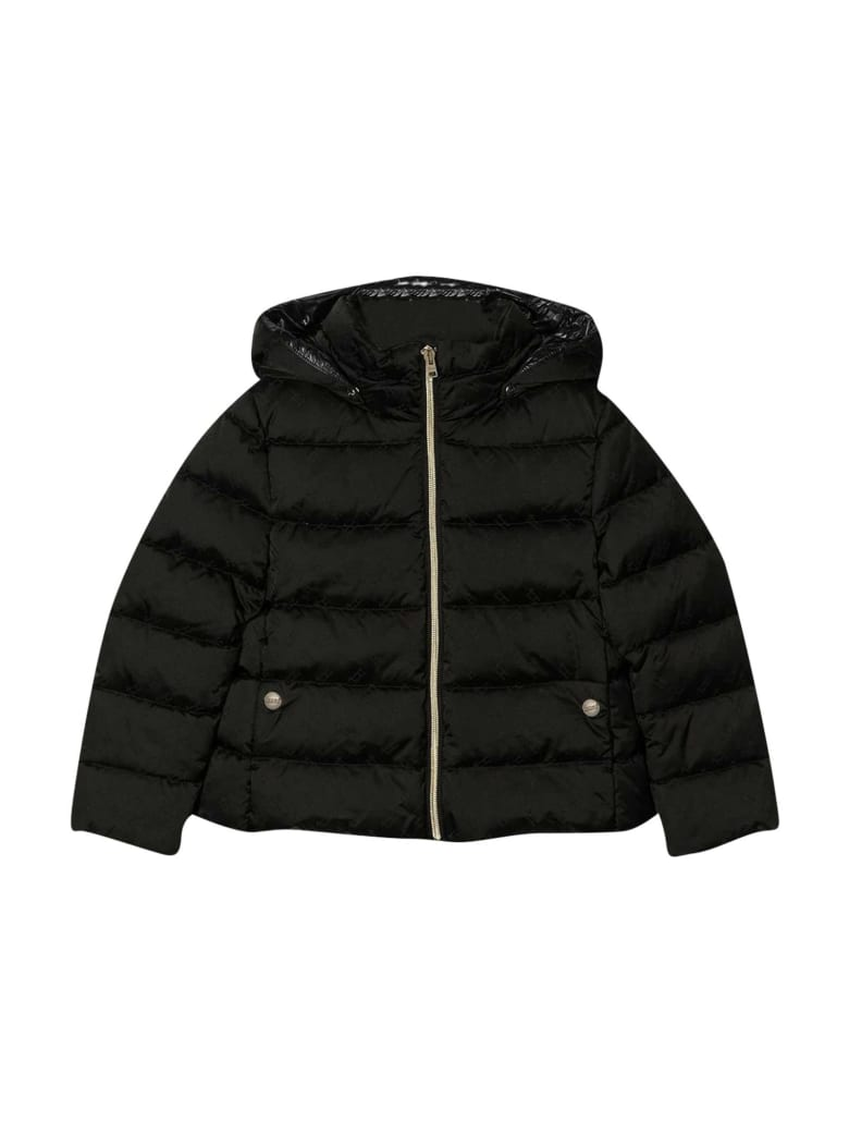 Herno Black Down Jacket - Nero