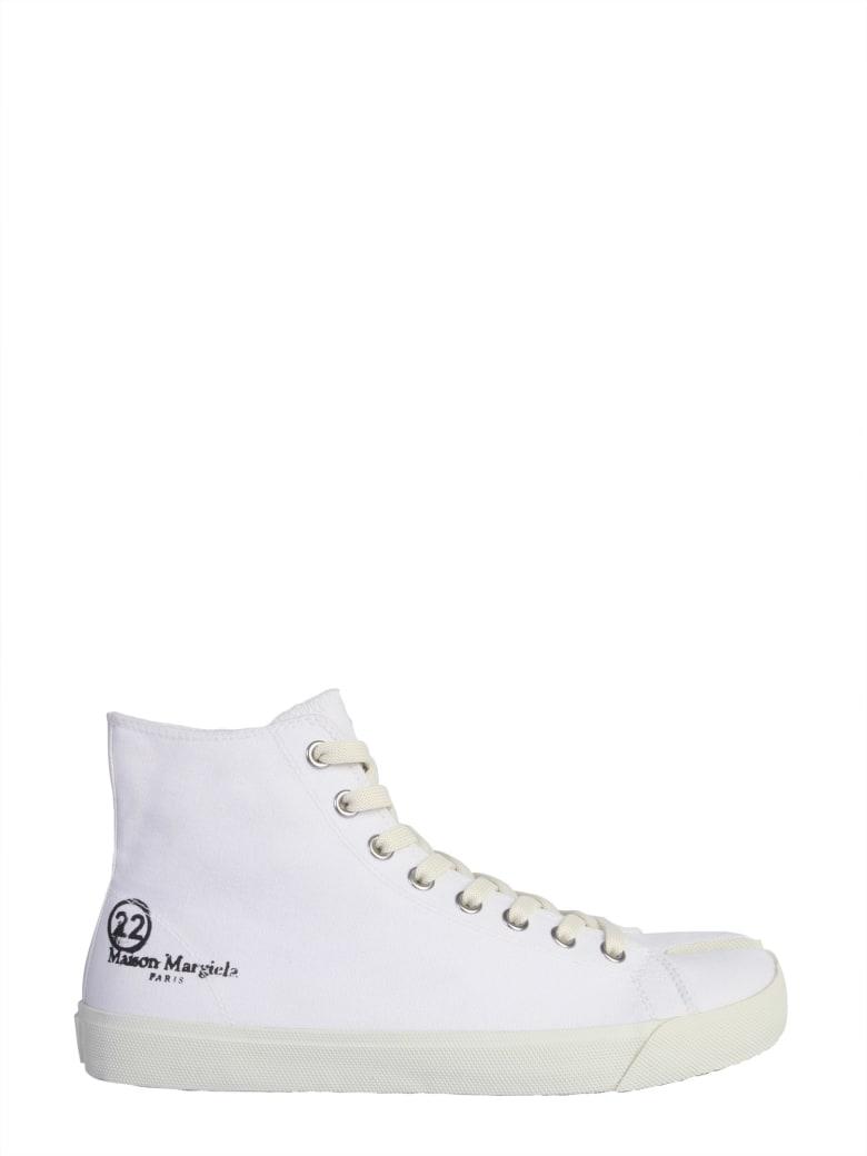 Maison Margiela Tabi High-top Sneakers - BIANCO