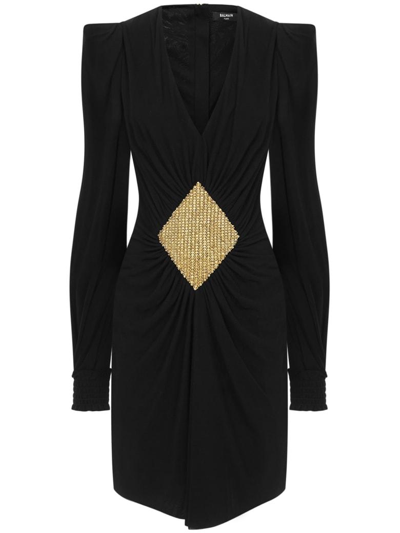 Balmain Paris Mini Dress - Black