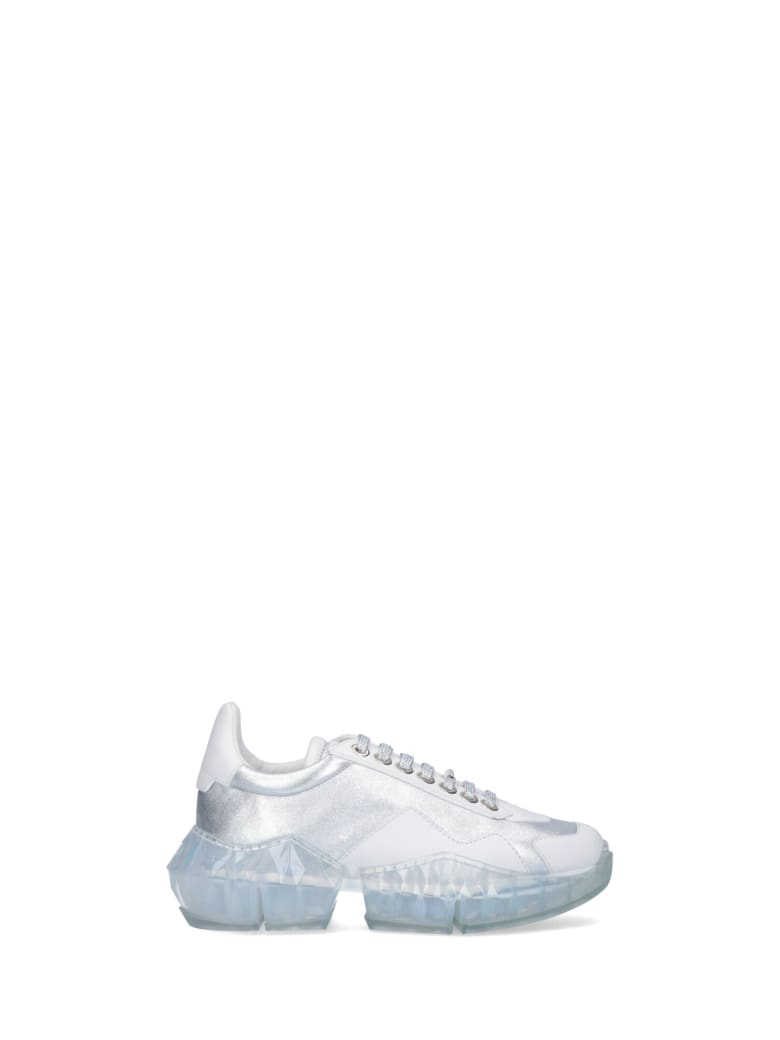 Jimmy Choo Sneakers - Silver