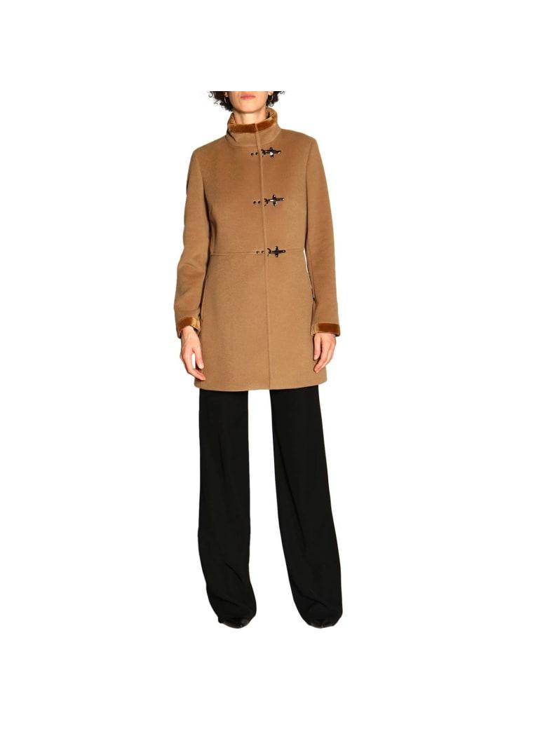Fay Coat Coat Women Fay - camel
