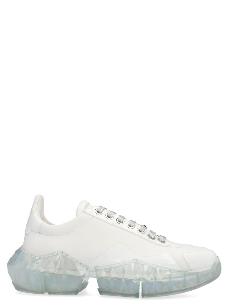 Jimmy Choo 'diamond' Shoes - White