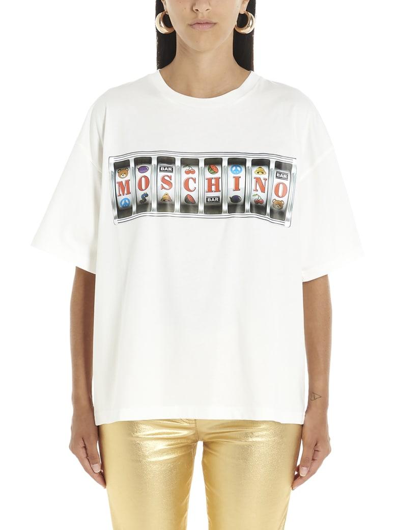 Moschino 'slot Machine' T-shirt - White